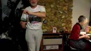 dad dancing to you see the trouble with me