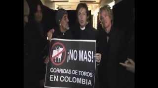 "NO MAS CORRIDAS DE TOROS  ""PAUL McCARTNEY"""