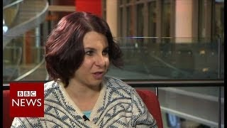 The FULL interview with Amanda Berry and Gina DeJesus - BBC Newsnight width=