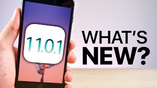 Watch iOS 11.0.1 Released! What's New Review