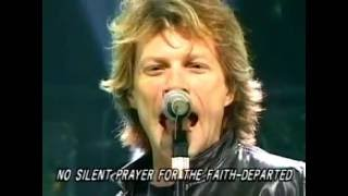 Bon Jovi  It's My Life - Video live + lyrics