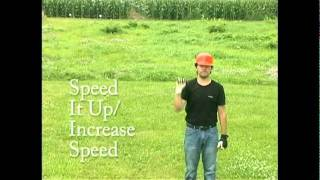 Hand Signals - Speed It Up / Increase Speed