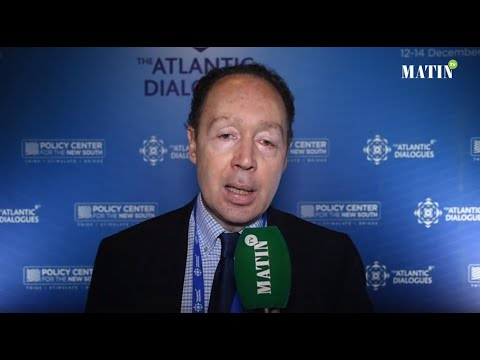 Video : Atlantic Dialogues : Déclaration de Francis Perrin