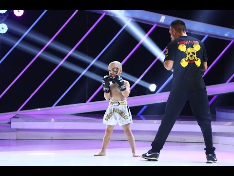 Nick Angelo are stofă de campion la box, finala Next Star