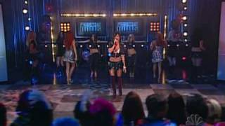 The Pussycat Dolls Loosen up my buttons Live + super sexy