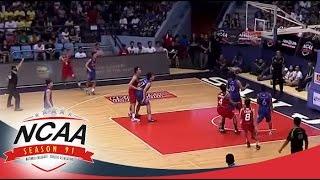 NCAA Season 91: CSJL vs AU Game Highlights