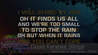 I Won't Let Go - Rascal Flatts ( Karaoke Lyrics )