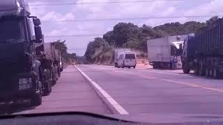 Exato momento da explosão de carro forte Capanema Pará