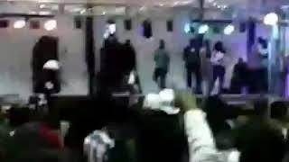Sjava performs shishiliza at WSU