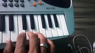 Raja Rani unnale mei maranthu nindrene song keyboard