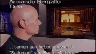 Set designer Santiago del Corral tribute after his death in 1995 - Emission AT5 Amsterdam