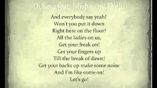 Dj Sava feat. Misha and J. Yolo - Taboo [Lyrics] -Istoc lyrics-