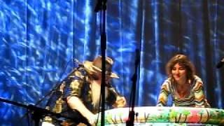 Hermeto Pascoal e Aline Morena live in Jazz n´Gaia - improvisos com água