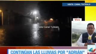 Alerta verde en Chiapas por fuertes lluvias por 'Adrian' Video
