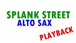 Splank Street Sax Alto - Playback