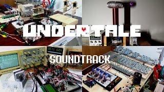 [Undertale] - Megalovania, 450kV Tesla Coil & Robot Orchestra cover