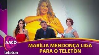 Teleton 2016 - Marília Mendonça liga para o Teleton