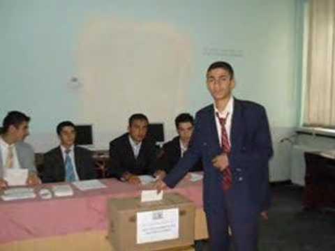 2007-2008 Bitlis End.Mes.Lis. Meclis Başkanlığı Seçimleri