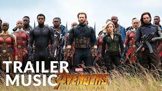 Venom & Avengers: Infinity War - Official Trailer Music | Audiomachine - Redshift