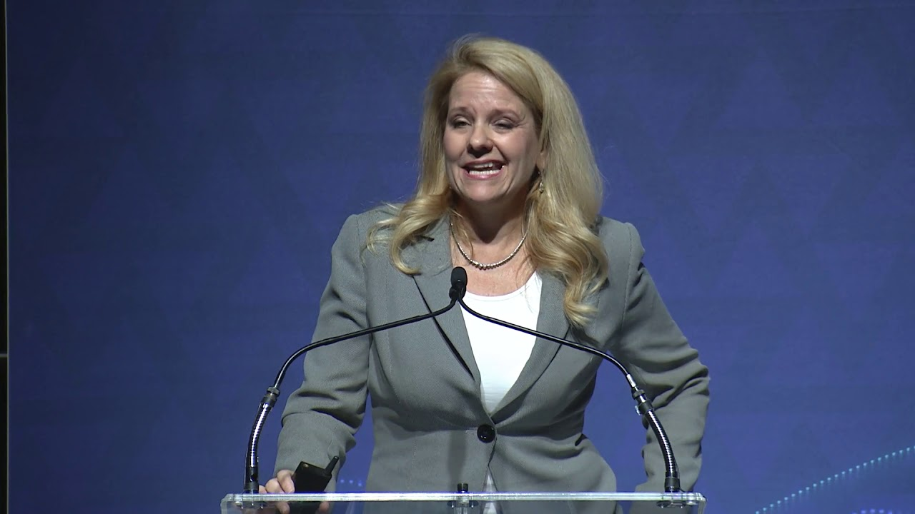 image from Gwynne Shotwell video Launching Our Future, select to view video