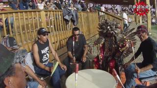 Makaho Singers Side Step Song @ Frog Lake Powwow 2016