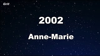 2002 - Anne-Marie  Karaoke 【With Guide Melody】 Instrumental