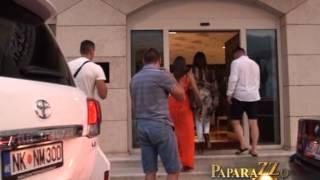 Seksi Ceca Raznatovic na plazi - Paparazzo lov - (Tv Pink)