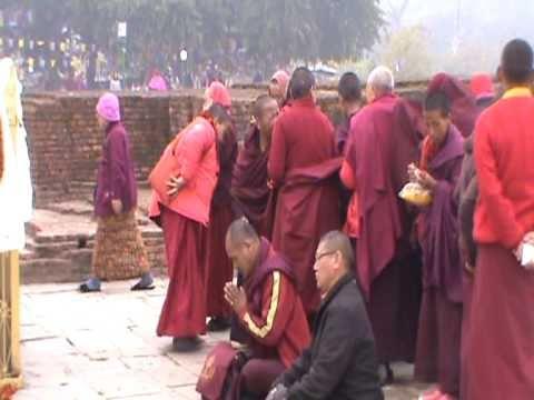 (Video 46) Kathmandu (Nepal) – Kushinagar (India) 28 Dec 2010 – 7 Jan 2011