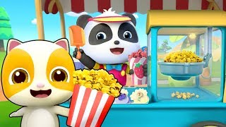 Yummy Popcorn Truck | Learn Colors, Colors Song, Ice Cream | Nursery Rhymes | Kids Songs | BabyBus