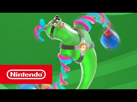 WTFF::: Gooey blob Helix revealed as newest ARMS character
