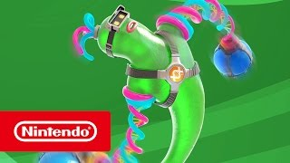 Gooey blob Helix revealed as newest ARMS character