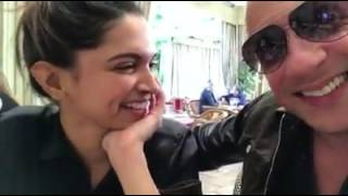 vin diesel & Deepika Padukone Live Video xxx  movie shoot working