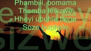 Velile & Safri Duo - Helele - Lyric