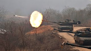 K2 Black Panther Live Fire 4K 360º - ROK Army - ROKA 360 Graus - ROK Armed Forces Military Power