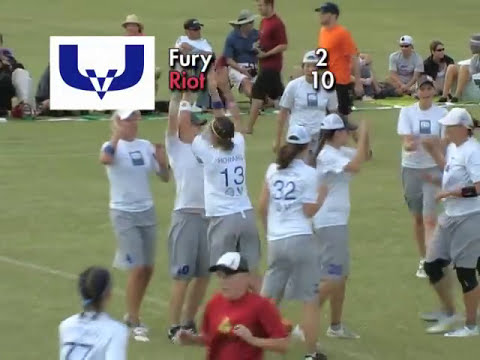 Video Thumbnail: 2008 National Championships: Women's Final: Seattle Riot vs. San Francisco Fury