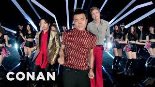 "J.Y. Park ""Fire"" feat. Conan O'Brien & Steven Yeun & Jimin Park Official M/V"
