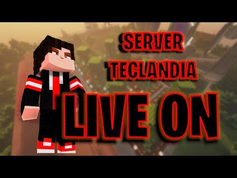 Minecraft SERVIDOR TECLANDIA - Survival java 1.8 / 1.17.1 JOGANDO COM OS INSCRITOS