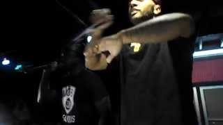 """Mobb Deep performing """"Give Up the goods (just step)"""" @Simon's 677 in Providence, Rhode Island"""