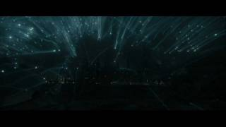 Harry Potter and the Deathly Hallows part 2 - the Death Eaters attack the shield (HD)