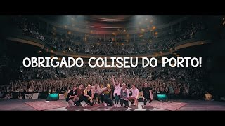 D.A.M.A - Official Video Report ( Coliseu do Porto)