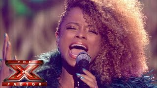 Fleur East sings Alicia Keys' If I Ain't Got You | Live Week 8 | The X Factor UK 2014