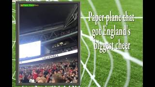 #trending1 --England v Peru: victory by 3 goals and a paper plane (ft. Blair Valentine)