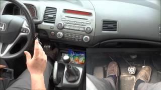 How To Drive A Manual Car In Traffic-Creeping Forward