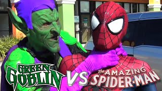 Spider-Man VS Green Goblin - Mortal Kombat Styled Fight! (Real Life Superhero Battle)