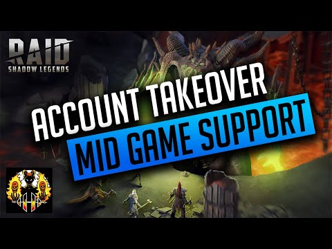 RAID: Shadow Legends | MID GAME ACCOUNT TAKEOVER, NO COUNTER ATTACK!