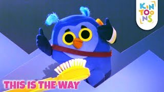This Is The Way - Action Song | Nursery Rhymes & Baby Songs | KinToons
