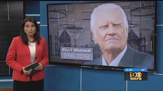 Rev. Billy Graham to be laid to rest with a bible in casket made by convicted murderers