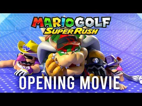 WTFF::: Mario Golf: Super Rush - Opening Cinematic