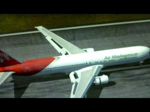 Air Madagascar Sim Flight B-767-300ER 5R-MFG