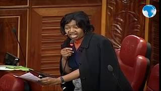 Drama in Senate as a section of Senators slam Zani for addressing Speaker Lusaka as 'Mzungumzishi'